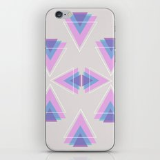 TRIANGLES IN COLOUR iPhone & iPod Skin