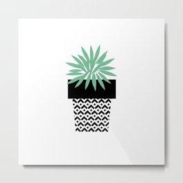 blooming yucca Metal Print