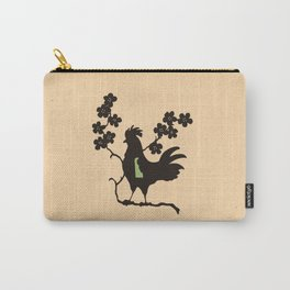 Delaware - State Papercut Print Carry-All Pouch