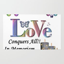 Love Conquers All - In Memoriam Rug