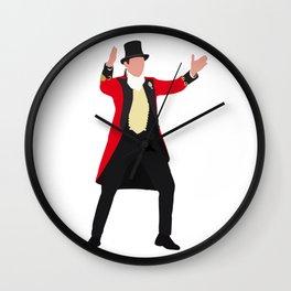 P.T. Barnum The Greatest Showman movie Wall Clock