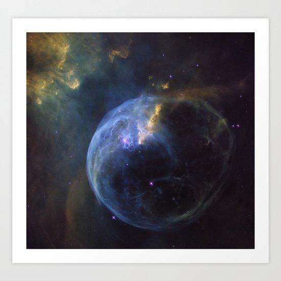 Space 25 Art Print