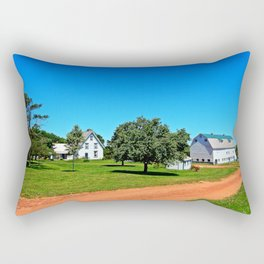 Stunning PEI Farm Rectangular Pillow