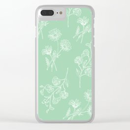Daisy & Sweet Pea Clear iPhone Case