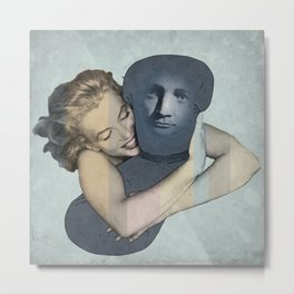 The Pillowman neads a hug Metal Print