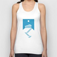 greece Tank Tops featuring GREECE by Marcus Wild
