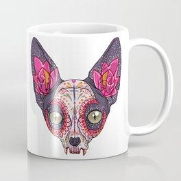Día de los Muertos - Sugar Skull Cat Coffee Mug