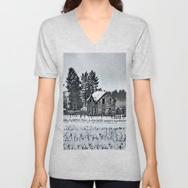 A Hazy Shade Of Winter  - Graphic 3 Unisex V-Neck