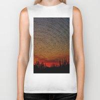 desert Biker Tanks featuring Desert by RingWaveArt