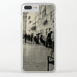 Western Wall - Israel Clear iPhone Case