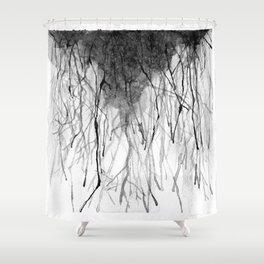 Rivers in the Desert  Shower Curtain