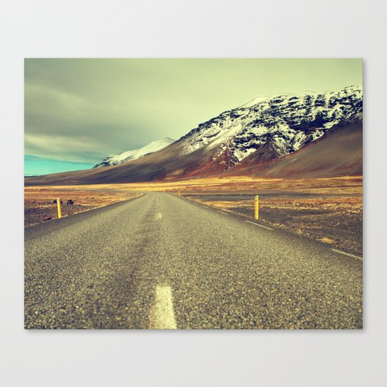 Landscape with Road Canvas Print