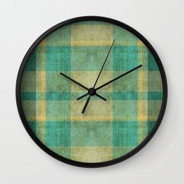 lumberjack shirt Wall Clock