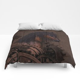 Steampunk Horse Comforters