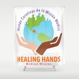 Healing Hands Medical Mission Shower Curtain