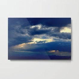 Deep Blues Metal Print
