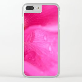 Rosehip Clear iPhone Case