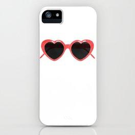 lolita sunglasses iPhone Case