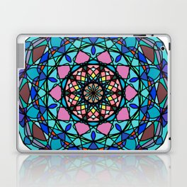 Round ornament in ethnic style Laptop & iPad Skin
