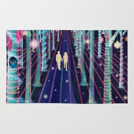 Walking in the Magic Forest Rug