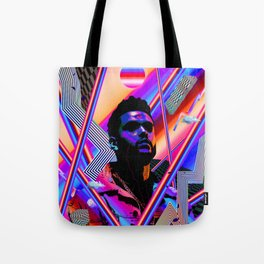 The Weeknd Trippy Tote Bag