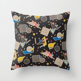 Memphis Inspired Design 8 Throw Pillow