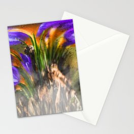 Concept flora : Crocus wings Stationery Cards