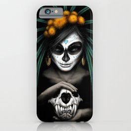 Voodo Dia De Los Muertos Day Of The Dead Sugar Ultra HD iPhone Case