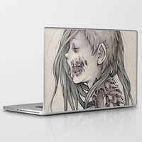 gore Laptop & iPad Skins featuring Gore Girl by Savannah Horrocks