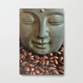 Coffee Buddha 3 Metal Print