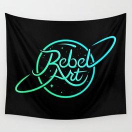 Rebel Art Logo Wall Tapestry