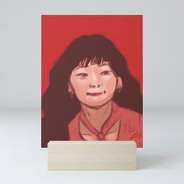 Red Seulgi Mini Art Print
