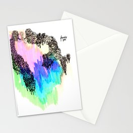 Friendly Foes Stationery Cards