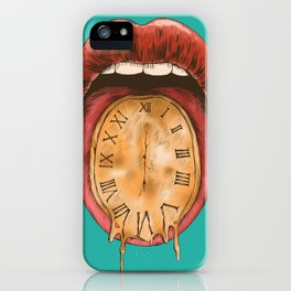 Melts in Your Mouth (Time) iPhone Case