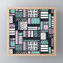 Pattern Pop Framed Mini Art Print