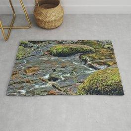 River Dart at Dartmeet Dartmoor. Rug