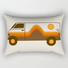 Sunset Chaser Rectangular Pillow