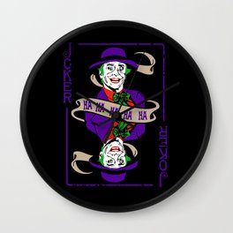 The Joker Jack  Wall Clock