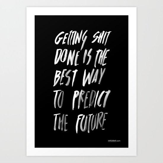 PREDICT Art Print