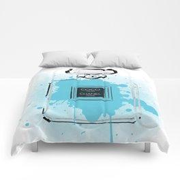 Blue Perfume #2 Comforters
