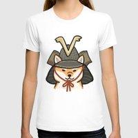 shiba inu T-shirts featuring Shiba Inu by FluffyMafi