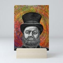 Psychodelic Scrooge's Epiphany Mini Art Print