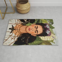 Frida Khalo art Rug