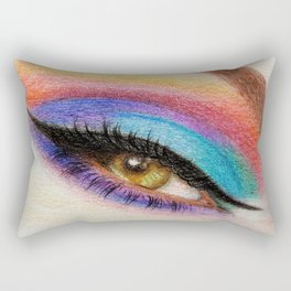 woman Rectangular Pillow