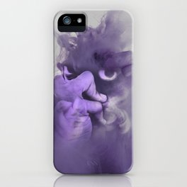 demon is about to rise iPhone Case