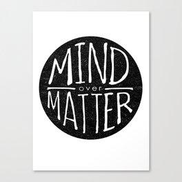 mind - matter Canvas Print