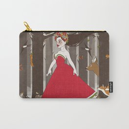 Flora im Walde Carry-All Pouch
