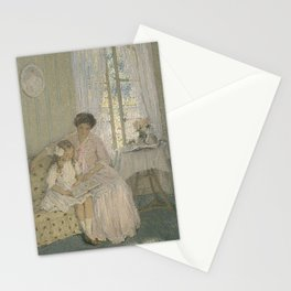 E Phillips Fox - The Lesson Stationery Cards