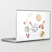 cooking Laptop & iPad Skins featuring Happy Cooking by Ana Mendes