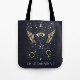 Le Jugement or The Judgement Tarot Tote Bag